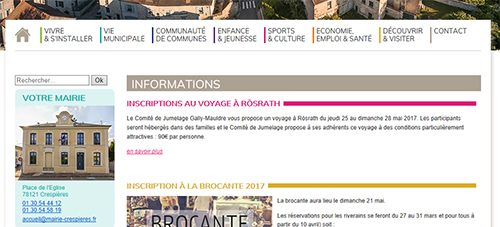 Aide - Les informations 8