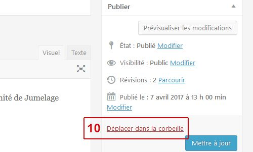 Aide - Les informations 7